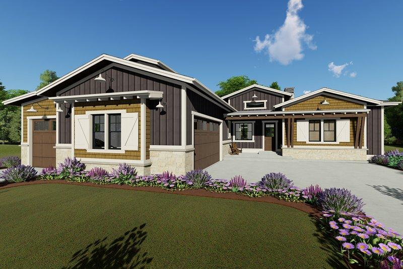 House Design - Farmhouse Exterior - Front Elevation Plan #1069-20