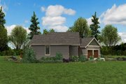 Craftsman Style House Plan - 3 Beds 2.5 Baths 1953 Sq/Ft Plan #48-952 Exterior - Other Elevation