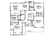 Traditional Style House Plan - 4 Beds 2.5 Baths 2742 Sq/Ft Plan #419-308 Floor Plan - Upper Floor Plan
