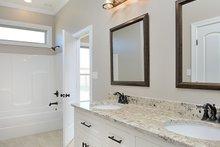 Dream House Plan - Tudor Interior - Bathroom Plan #45-372