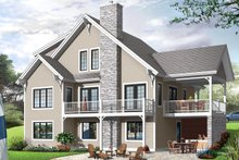 House Plan Design - European Exterior - Front Elevation Plan #23-2512