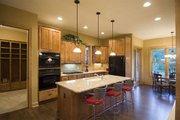 Craftsman Style House Plan - 4 Beds 3.5 Baths 2909 Sq/Ft Plan #56-597 Interior - Kitchen