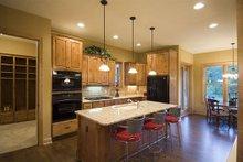 Dream House Plan - Craftsman Interior - Kitchen Plan #56-597