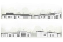 Architectural House Design - Modern Exterior - Other Elevation Plan #924-4
