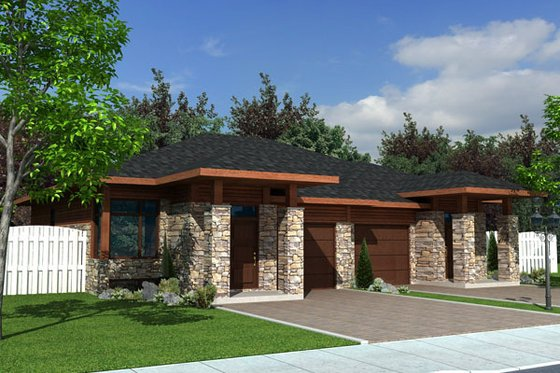 1100 square foot duplex 2 bedroom 1 bath house plan
