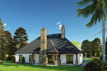 Architectural House Design - Craftsman Exterior - Rear Elevation Plan #923-171