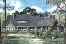 Home Plan - Craftsman Exterior - Outdoor Living Plan #17-2443