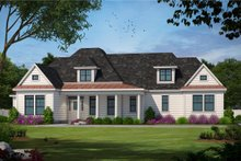 House Plan Design - Traditional Exterior - Front Elevation Plan #20-684