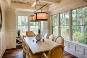 Country Style House Plan - 3 Beds 3.5 Baths 3043 Sq/Ft Plan #928-13 Interior - Dining Room