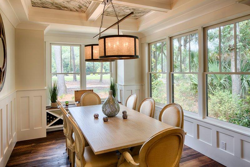 Country Interior - Dining Room Plan #928-13 - Houseplans.com