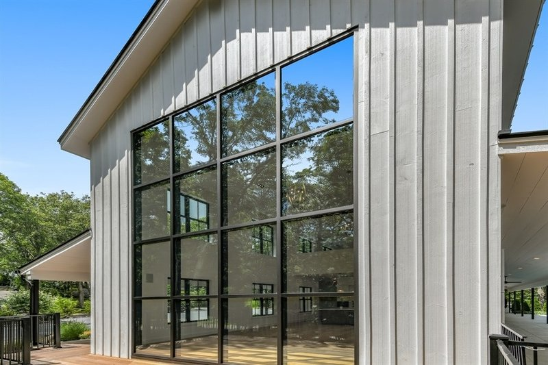 Farmhouse Exterior - Other Elevation Plan #888-15