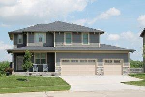 Craftsman Exterior - Front Elevation Plan #20-2453
