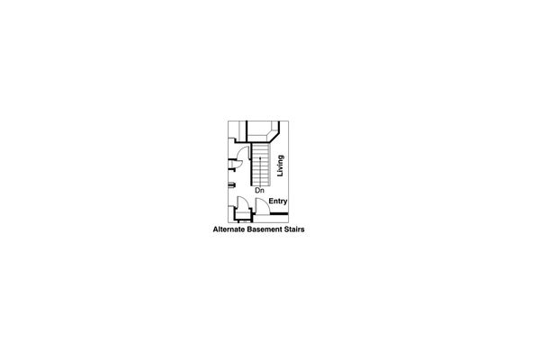 Cottage Floor Plan - Other Floor Plan Plan #124-309