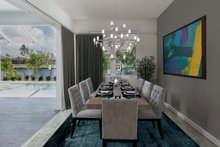 House Plan Design - Beach Interior - Dining Room Plan #938-83