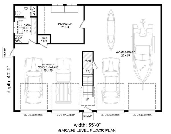 Architectural House Design - Country Floor Plan - Main Floor Plan #932-221