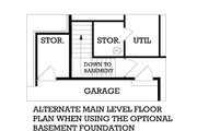 Colonial Style House Plan - 3 Beds 2 Baths 1800 Sq/Ft Plan #45-123