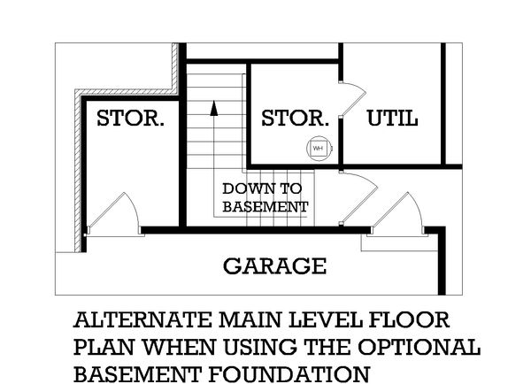 Home Plan - Colonial Floor Plan - Other Floor Plan #45-123