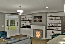 House Design - Farmhouse Interior - Family Room Plan #44-248