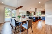 Contemporary Style House Plan - 4 Beds 3.5 Baths 3334 Sq/Ft Plan #1042-19 Interior - Dining Room
