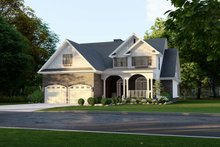 House Plan Design - Front Right