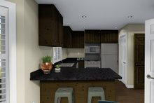 Architectural House Design - Traditional Interior - Kitchen Plan #1060-4