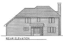 Traditional Exterior - Rear Elevation Plan #70-169