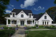 Farmhouse Style House Plan - 3 Beds 2.5 Baths 2526 Sq/Ft Plan #120-272 Exterior - Front Elevation