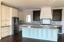 House Plan Design - Craftsman Interior - Kitchen Plan #437-102