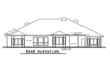 Dream House Plan - European Exterior - Rear Elevation Plan #20-2361