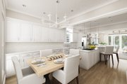 Craftsman Style House Plan - 1 Beds 1.5 Baths 1062 Sq/Ft Plan #45-588 Interior - Kitchen