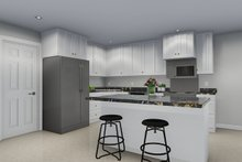 Farmhouse Interior - Kitchen Plan #1060-47