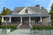 Craftsman Style House Plan - 3 Beds 2.5 Baths 2366 Sq/Ft Plan #63-343 Exterior - Front Elevation