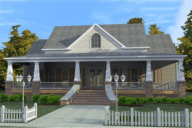 Craftsman Style House Plan - 3 Beds 2.5 Baths 2366 Sq/Ft Plan #63-343