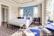 Craftsman Style House Plan - 5 Beds 4 Baths 3112 Sq/Ft Plan #929-839 Interior - Master Bedroom