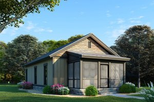 Country Exterior - Front Elevation Plan #923-99