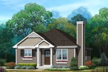House Plan Design - Ranch Exterior - Front Elevation Plan #22-613