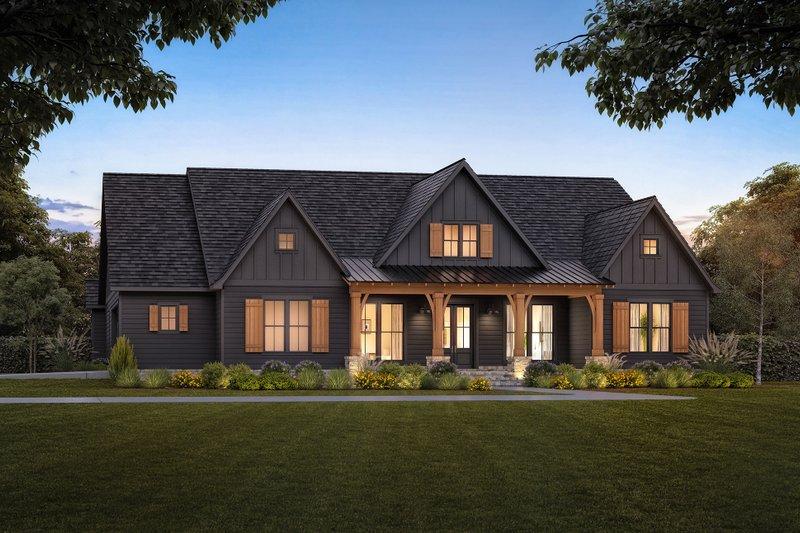House Design - Farmhouse Exterior - Front Elevation Plan #1074-50