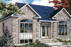 Traditional Exterior - Front Elevation Plan #138-199