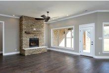 Tudor Interior - Family Room Plan #45-372
