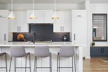 Contemporary Interior - Kitchen Plan #928-296