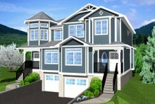 Victorian Exterior - Front Elevation Plan #126-152