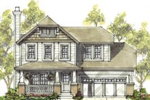 Home Plan - Traditional Exterior - Front Elevation Plan #20-1216
