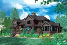 Home Plan - Craftsman Exterior - Rear Elevation Plan #48-353