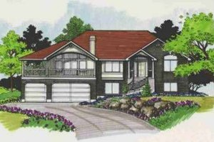 Traditional Exterior - Front Elevation Plan #308-131