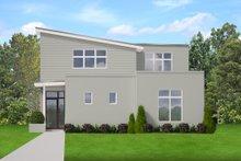 House Plan Design - Contemporary Exterior - Front Elevation Plan #1058-207