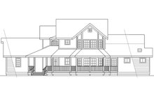 Country Exterior - Other Elevation Plan #124-173