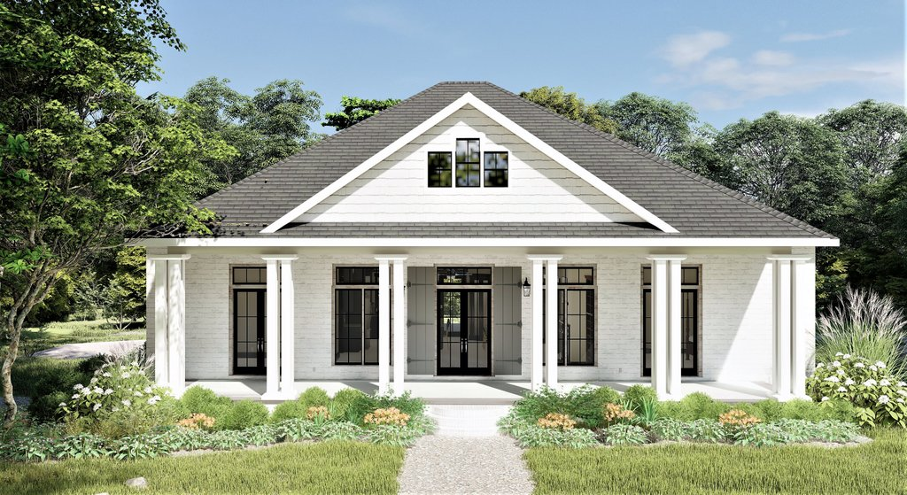 Bungalow Style House Plan 2 Beds 2 Baths 2160 Sq Ft Plan 44 238 Eplans Com