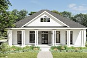 Bungalow Style House Plan - 2 Beds 2 Baths 2160 Sq/Ft Plan #44-238 Exterior - Front Elevation