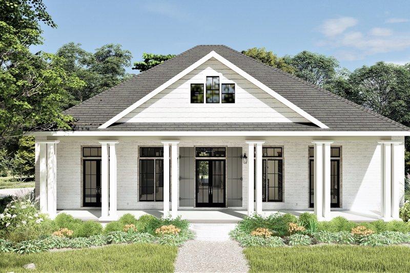 Architectural House Design - Bungalow Exterior - Front Elevation Plan #44-238