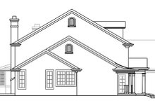 House Plan Design - Colonial Exterior - Other Elevation Plan #124-216